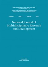 National Journal of Multidisciplinary Research and Development